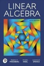 Stephen H. Friedberg,   Arnold J. Insel,   Lawrence E. Spence Linear Algebra