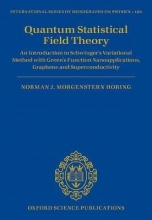 Norman J. M. Horing Quantum Statistical Field Theory