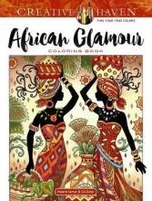 Sarnat, Marjorie Creative Haven African Glamour Coloring Book