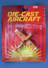 Adams, Paul Brent Die-cast Aircraft