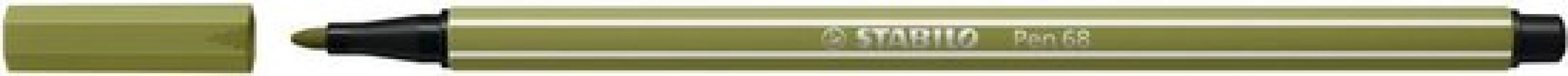 , Viltstift STABILO Pen 68/37 modder groen
