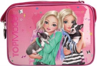 0010766 a , Topmodel schoudertas friends roze