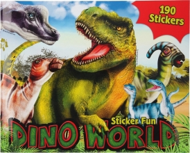, Dino world sticker fun