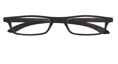 Leesbril zipper g27000 zwart 1.00