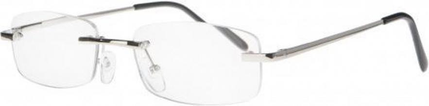 Ecc001 , Leesbril icon metal frameless 2.00