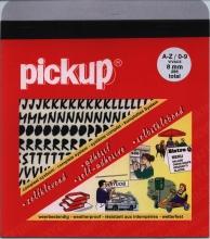 12202008 zw , Pickup vivace a-z/0-9 8 mm zwart