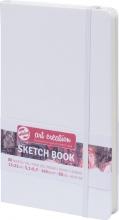 9314102m , Talens art creation schetsboek 13 x21 witte kaft 80 blz140 gr
