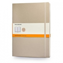 Moleskine Soft Extra Large Khaki Beige Ruled Notebook
