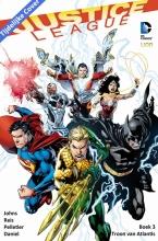 Johns,,Geoff/ Daniel,,Tony Justice League Hc03. de Troon van Atlantis (new 52)