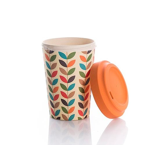 Bcp209,Bamboocup coffee bright leaves