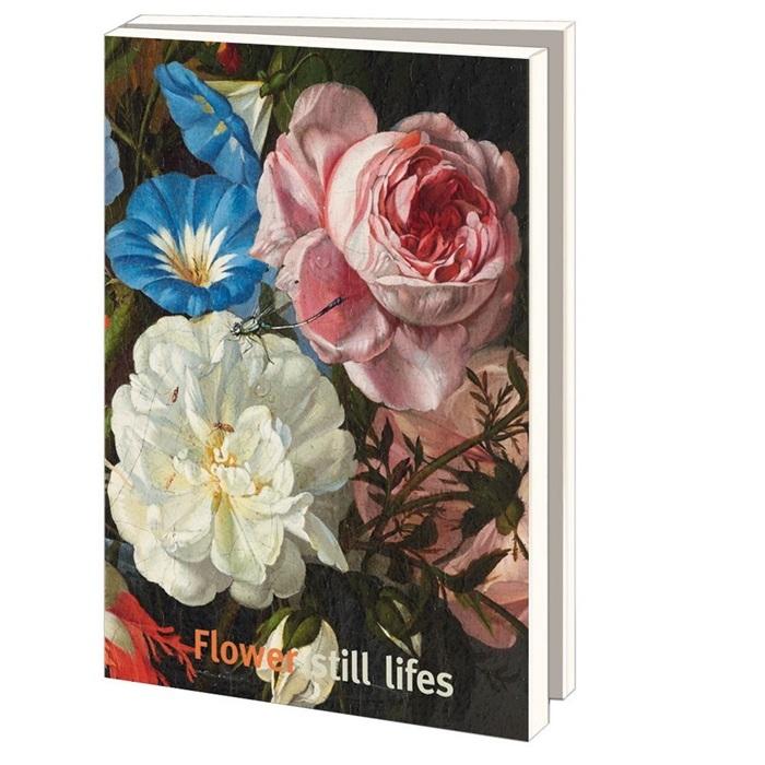 Lmc294,Notecard pak 10 stuks 170x120 mm  flower still lifes