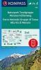 , Naturpark Texelgruppe, Meraner Höhenweg, Parco Naturale Gruppo di Tessa, Alta Via di Merano 1 : 25 000