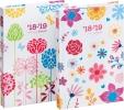 ,<b>Agenda brepols happy a5 1 dag per pagina  assorti bloemen</b>