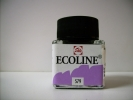 ,<b>Talens Ecoline Vloeibare Waterverf Fl.30 Ml Pastelviolet 579</b>