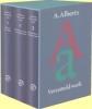Alberts, A.,Verzameld werk set