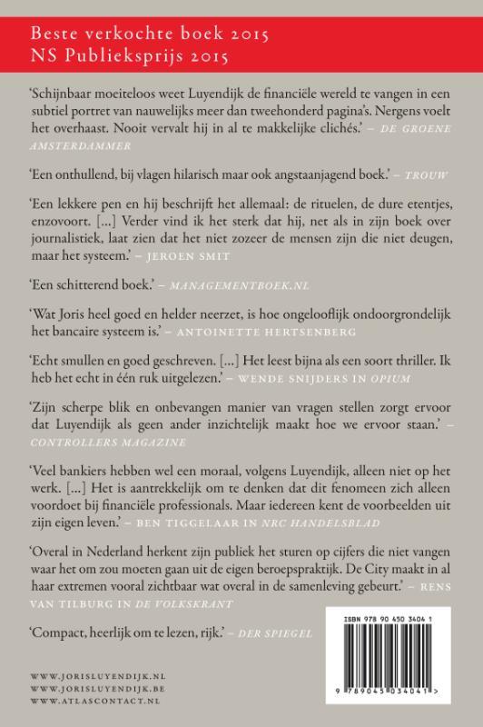 Joris Luyendijk,Dit kan niet waar zijn