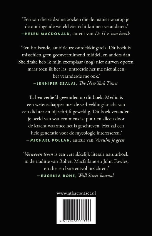 Merlin Sheldrake,Verweven leven