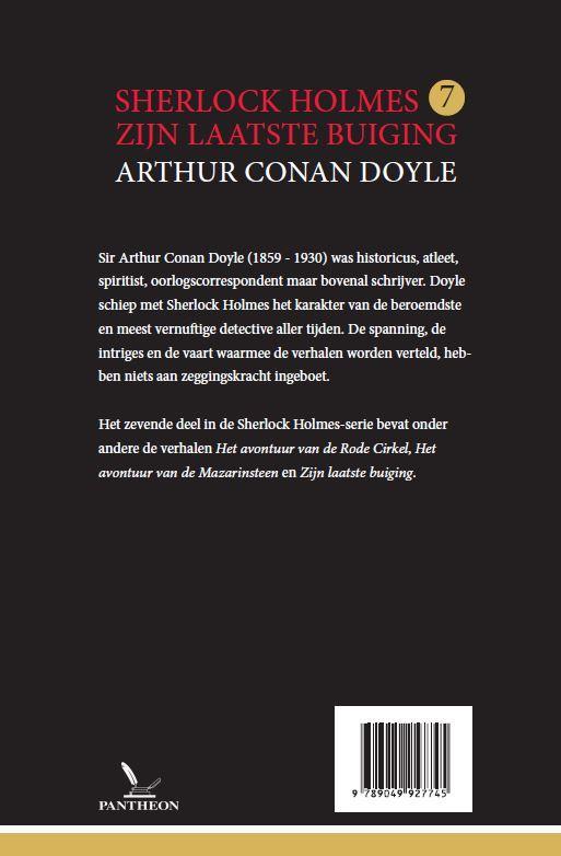 Arthur Conan Doyle,Zijn laatste buiging