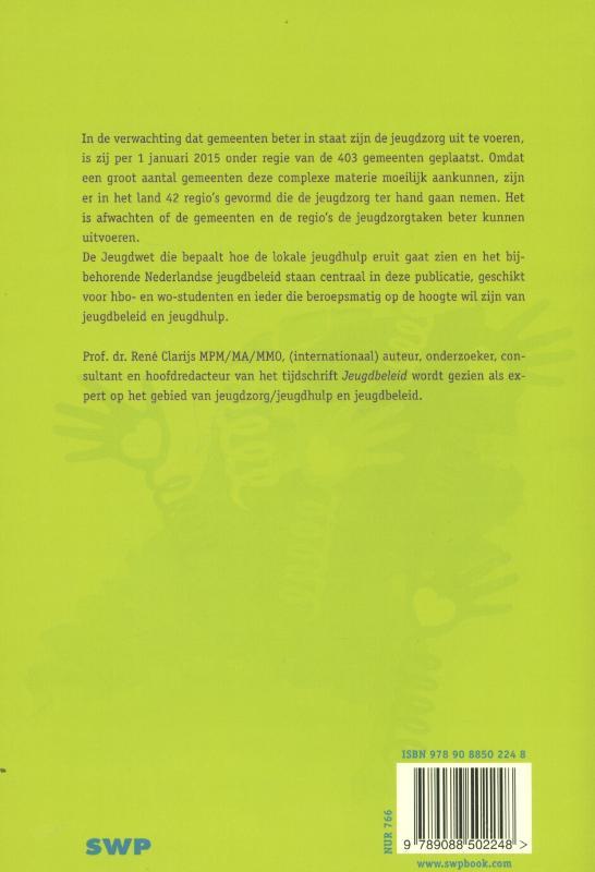 René Clarijs,Jeugdhulp en jeugdbeleid