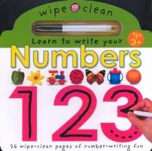 Priddy, Roger Numbers 1 2 3 [With Erasable Marker]