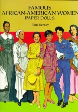 Tom Tierney Famous African-American Women Paper Dolls