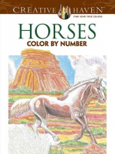 Toufexis, George Horses Color by Number Coloring Book