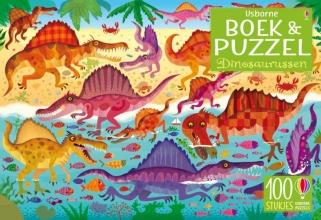 , Dinosaurussen Boek & puzzel