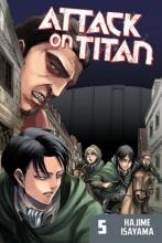 Isayama, Hajime Attack on Titan 5