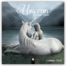 Unicorns by Anne Stokes Wall Calendar 2019 (Art Calendar)