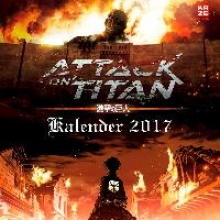 Isayama, Hajime Attack on Titan - Wandkalender 2017