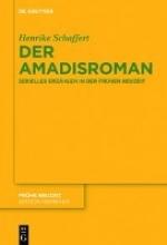 Schaffert, Henrike Der Amadisroman
