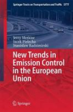 Merkisz, Jerzy New Trends in Emission Control in the European Union