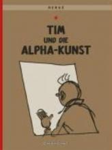 Herge Tim und Struppi 24. Tim und die Alpha-Kunst