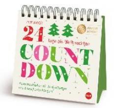 Countdown bis Weihnachten Adventsaufsteller