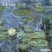 Monet 2018 Broschürenkalender