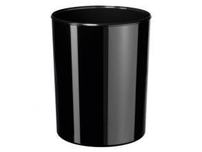 , papierbak HAN i-Line 13 liter hoogglans zwart