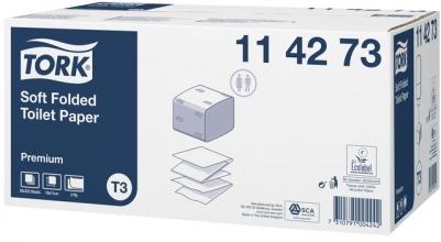 , Toiletpapier Tork T3 114273 Premium 2laags 252vel 30 bundels wit