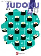 , Denksport puzzelboek Sudoku Mix