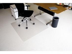 , vloermat Kangaro voor tapijt 120 x 130 cm transparant PET   2,1mm/nop 2,1