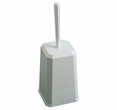 , Toiletborstelhouder Euro kunststof wit