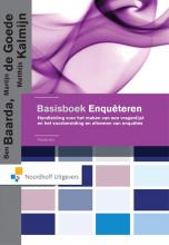 Matthijs Kalmijn Ben Baarda  Martijn de Goede, Basisboek enquêteren