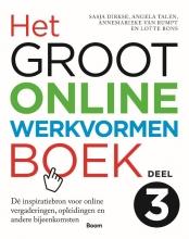 Lotte Bons Sasja Dirkse  Angela Talen  Annemarieke van Rumpt, Het groot online werkvormenboek 3