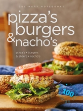 Culinary notebooks Pizza`s burgers & nacho`s