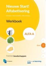 , Nieuwe Start Alfabetisering Werkboek Alfa A Deel 2 + e-learning