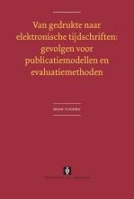 Henk  Voorbij Van gedrukte naar elektronische tijdschriften