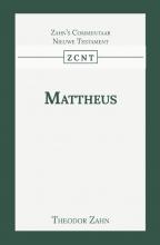 Theodor Zahn , Kommentaar op het Evangelie van Mattheus