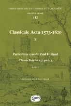 , Classicale Acta 1573-1620 X Band 2