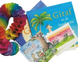 Marie-Louise  Sekrève Giraf viert feest met jou  (Giraf gaat slapen - Giraf en de Krookeritis - Giraf viert feest(mini-editie))