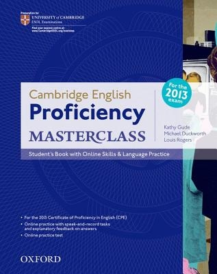 ,Cambridge English: Proficiency (CPE) Masterclass: Student`s Book with Online Skills and Language Practice Pack