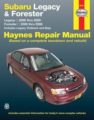 Haynes Publishing,Subaru Legacy/Forester 2000-09